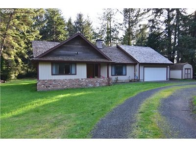 Bandon Single Family Home For Sale: 54400 Chandler Rd