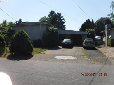 Portland OR Single Family Home For Sale: $0