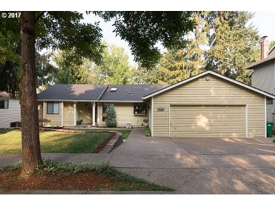 Beaverton Single Family Home For Sale: 6360 SW 154th Pl