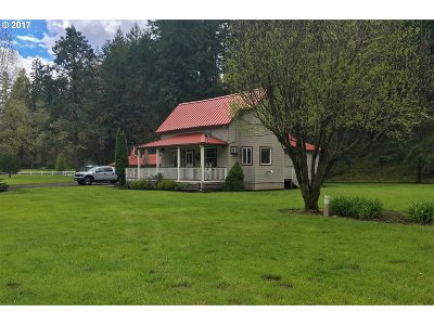 Glide Single Family Home For Sale: 401 Cavitt Creek Rd