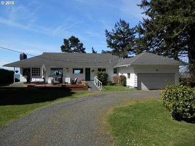 Coos Bay Single Family Home For Sale: 91501 Cape Arago Hy