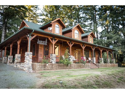 Coquille Single Family Home For Sale: 63084 Fairview Rd