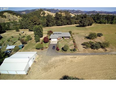 Roseburg Single Family Home For Sale: 1005 Happy Valley Rd