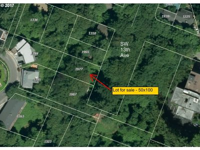 Portland Residential Lots & Land For Sale: 1977 SW 13th Ave