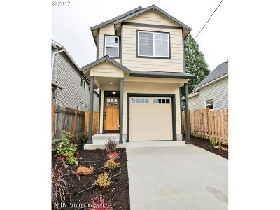 Portland Single Family Home For Sale: 8917 N Curtis Ave