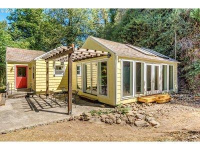 Multnomah County Single Family Home For Sale: 5945 NW Saltzman Rd