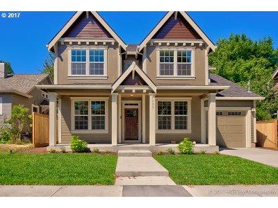 Clackamas County, Multnomah County, Washington County Single Family Home For Sale: 7023 N Atlantic Ave