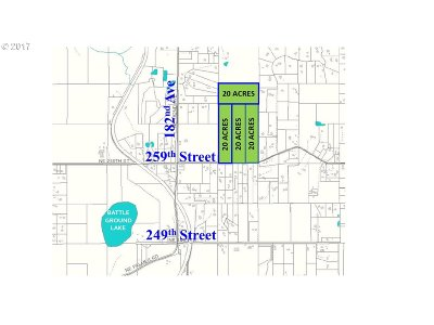 Battle Ground Residential Lots & Land For Sale: NE 259th S