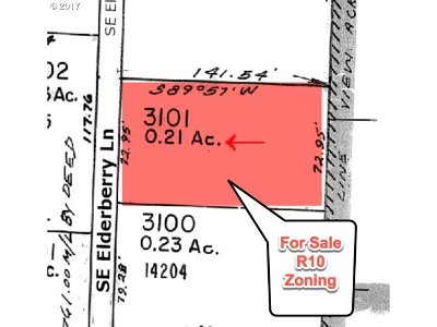 Milwaukie, Gladstone Residential Lots & Land For Sale: SE Elderberry