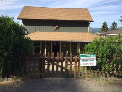Rainier OR Single Family Home Sold: $199,900