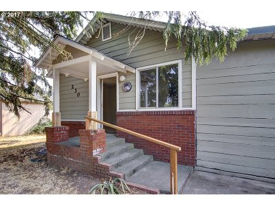 Junction City Single Family Home For Sale: 230 Cedar St