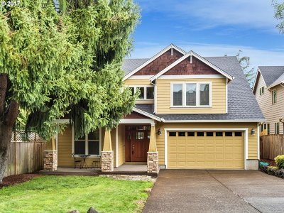 Tigard Single Family Home For Sale: 11118 SW 117th Ter