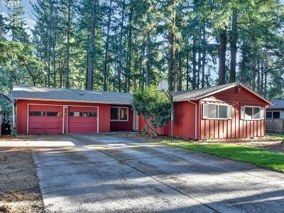 Lake Oswego Single Family Home For Sale: 16538 Carnegie Ave