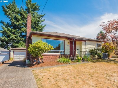 Portland Single Family Home For Sale: 6436 NE 37th Ave