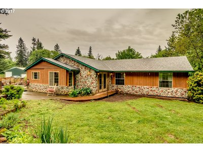 Mulino Single Family Home For Sale: 14232 S Buckner Creek Rd