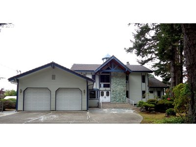 Coos Bay Single Family Home For Sale: 91287 Cape Arago Hy