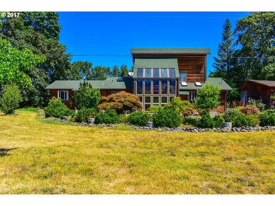 Myrtle Creek Single Family Home For Sale: 15646 Old Highway 99 South