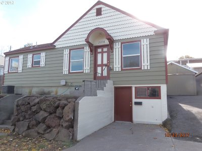 Pendleton Single Family Home For Sale: 1108 SW Goodwin Pl
