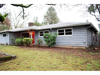 Single Family Home For Sale: 15009 SE Mill St