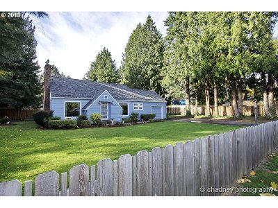 Single Family Home For Sale: 3347 SE 157th Ave