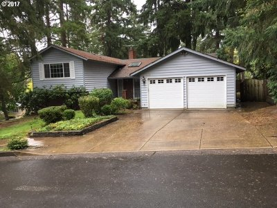 Beaverton Single Family Home For Sale: 7220 SW 142nd Ave