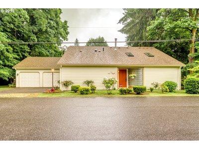 Lake Oswego Single Family Home For Sale: 19050 Pilkington Rd