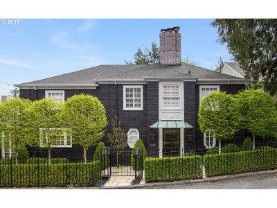 , Portland, West Linn, Lake Oswego Single Family Home For Sale: 2629 SW Buena Vista Dr