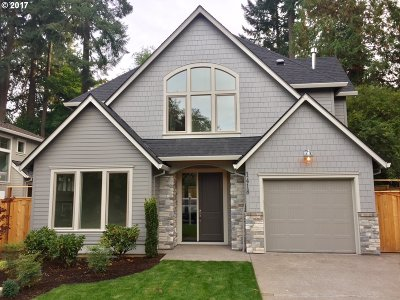 Lake Oswego Single Family Home For Sale: 1418 Maple St
