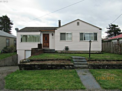 Coquille Single Family Home For Sale: 1081 W 9th