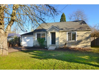 Eugene OR Single Family Home For Sale: $229,000