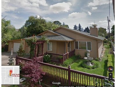 Single Family Home For Sale: 838 SE 147th Ave