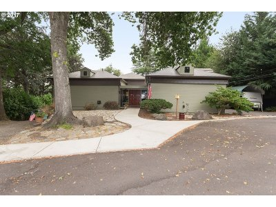 Single Family Home For Sale: 8765 SW Hillview Ter