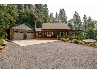 Sweet Home Single Family Home Sold: 42419 Ames Creek Rd