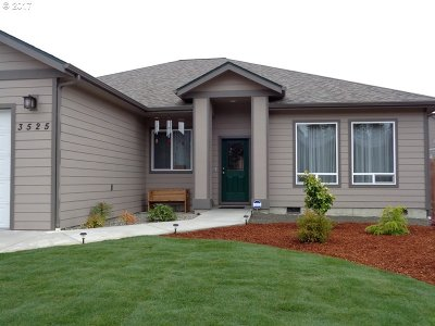 North Bend Single Family Home For Sale: 3525 Chinook Ave