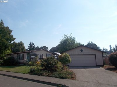 Cottage Grove, Creswell Single Family Home For Sale: 1681 Curry Ave