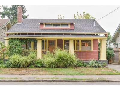 Portland OR Single Family Home For Sale: $535,000