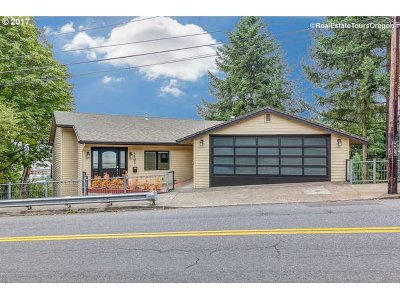 Portland Single Family Home For Sale: 1702 SW Vista Ave
