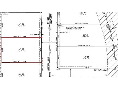 Eugene Residential Lots & Land For Sale: 3450 Quail Meadow Way