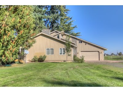 Woodburn Single Family Home Sold: 15207 NE Union School Rd