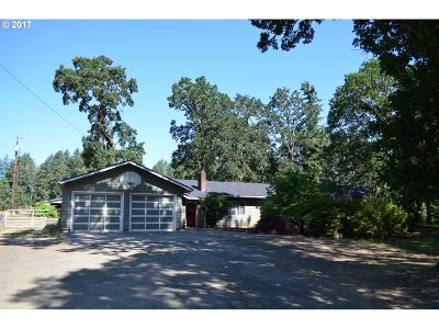 Elmira Single Family Home For Sale: 89312 Territorial Hwy