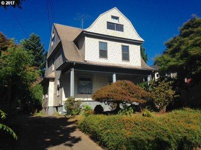 Portland Single Family Home For Sale: 2217 NE 14th Ave