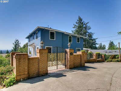 Single Family Home For Sale: 5420 SW Westwood View