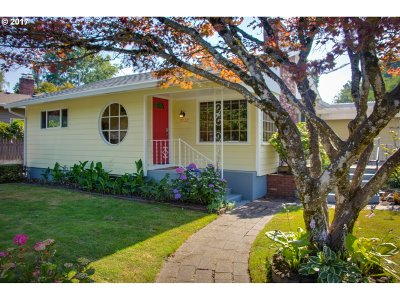 Portland Single Family Home For Sale: 7888 SE 46th Ave