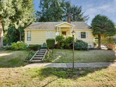 Single Family Home Bumpable Buyer: 12400 SE Bybee Blvd
