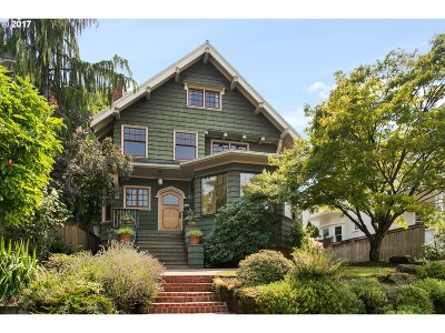 Single Family Home For Sale: 2542 NW Northrup St