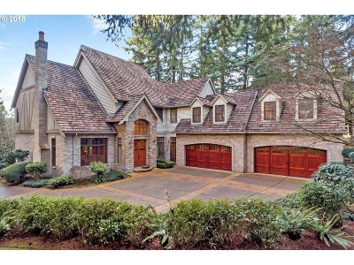 Lake Oswego Single Family Home For Sale: 800 Terrace Dr