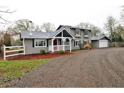 Canby Single Family Home Sold: 23861 S Knights Bridge Rd