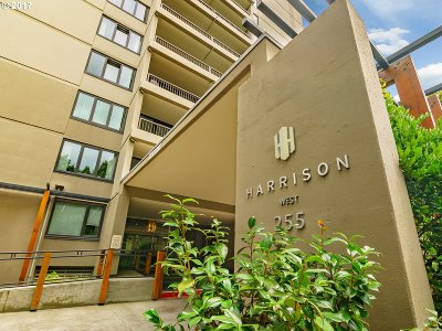 Condo/Townhouse For Sale: 255 SW Harrison St #20g