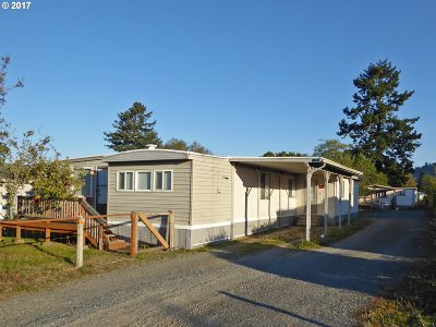 Brookings Single Family Home For Sale: 97975 W Benham Ln