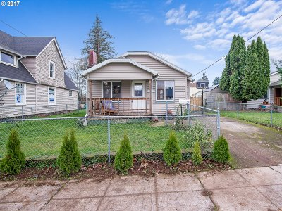 Portland Single Family Home For Sale: 8804 N Druid Ave